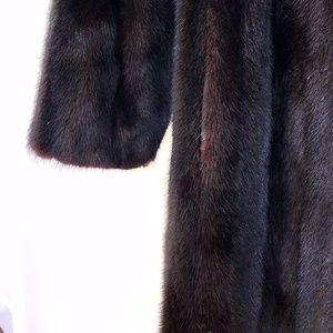 Jackets & Blazers - Longline Dark Ranch (Male) Mink Fur Coat